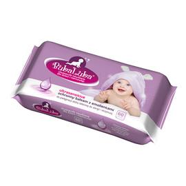 chusteczki nawilżane dla dzieci ultrasensitive ochronny balsam z emolientami 60szt