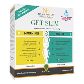 Get Slim Morning & Night dwufazowy program odchudzający 90 tabletek