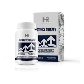 Potency therapy pomaga wywołać i wzmocnić erekcję suplement diety 60 kapsułek
