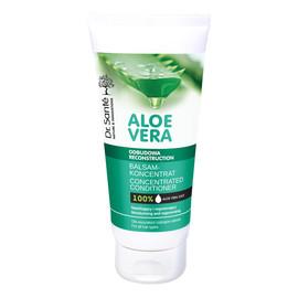 balsam aloesowy z keratyną ceramidami roślinnymi do włosów