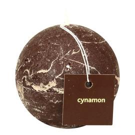 Świeca zapachowa kula cynamon 720006