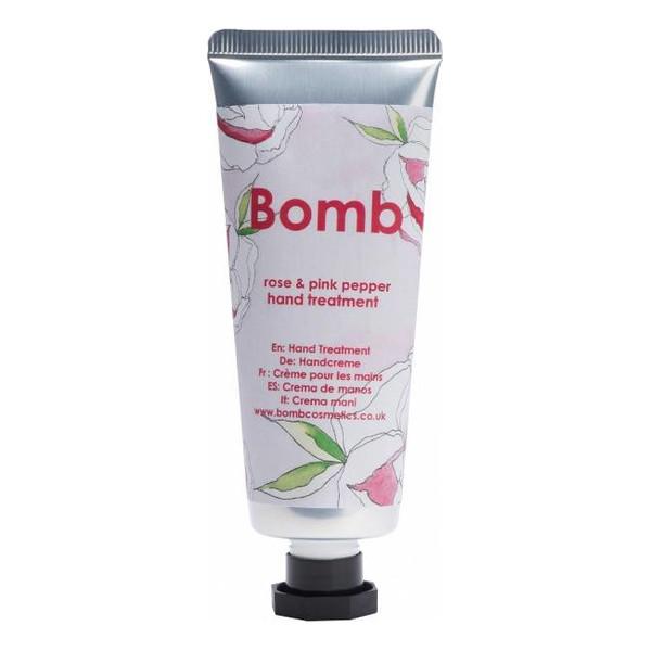 Bomb Cosmetics Hand Treatment kuracja do rąk Róża & Różowy Pieprz 25ml