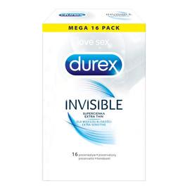 Extra Thin super cienkie prezerwatywy 16szt