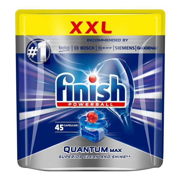 Finish Powerball Quantum Max tabletki do mycia naczyń w zmywarkach 45szt