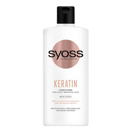Keratin conditioner odżywka do włosów słabych i łamliwych