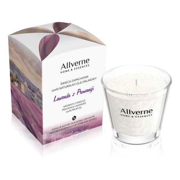 Allverne Home & Essences Świeca zapachowa Lawenda z Prowansji 170g