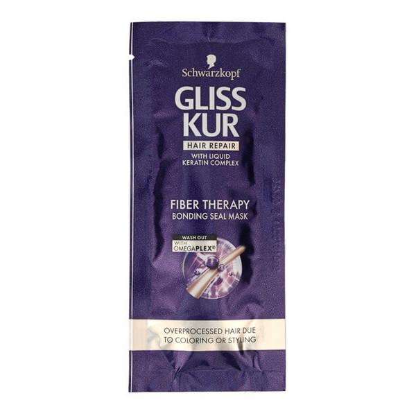 Gliss Kur Fiber Therapy Maska do włosów przeciążonych saszetka 20ml