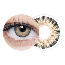 Clearcolor 1-day hazel jednodniowe kolorowe soczewki kontaktowe fl332-2.00 10szt