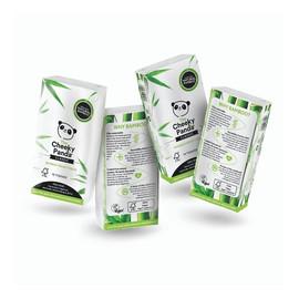 Bamboo pocket tissue bambusowe chusteczki higieniczne kieszonkowe 8x10szt