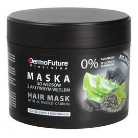 Aktywny Węgiel maska do wszystkich rodzajów włosów