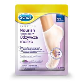 Nourish Pedi Mask odżywcza maska do stóp z olejkiem lawendowym