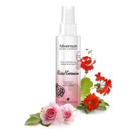 Mgiełka do ciała perfumowana Róża & Geranium