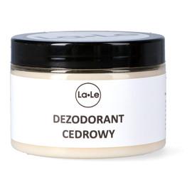 Dezodorant ekologiczny w kremie z olejkiem cedrowym