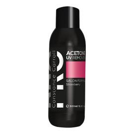 Zmywacz acetonowy Acetone UV Remover Strawberry