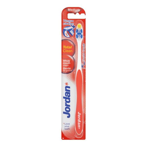 Jordan Total Clean Szczoteczka do zębów średnia