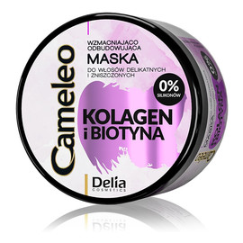 Kolagen i Biotyna wzmacniająco-odbudowująca Maska do włosów
