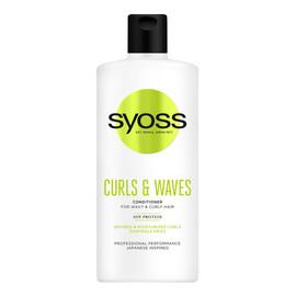 Curls & waves conditioner odżywka do włosów falowanych i kręconych