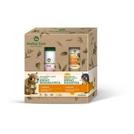 Zestaw prezentowy Herbal Kids (Krem do twarzy 50ml+oliwka do kąpieli 300ml)