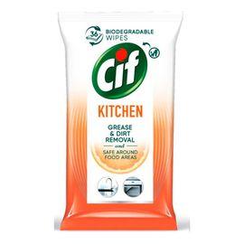 Chusteczki nawilżane do czyszczenia kuchni 1 op. 36 szt.