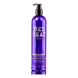 Bed head dumb blonde violet toning shampoo szampon do włosów blond