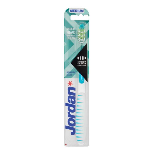 Jordan Individual Clean Szczoteczka do zębów średnia