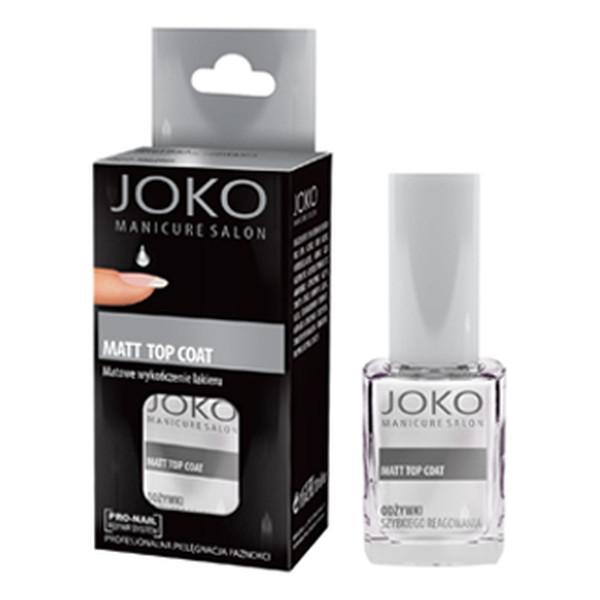 Joko Manicure Salon Odżywka do paznokci Matt Top Coat 10ml
