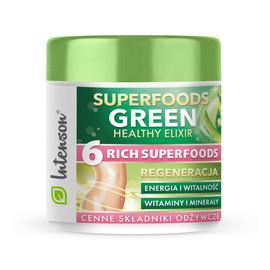 Superfoods green healthy elixir koktajl pobudzający suplement diety