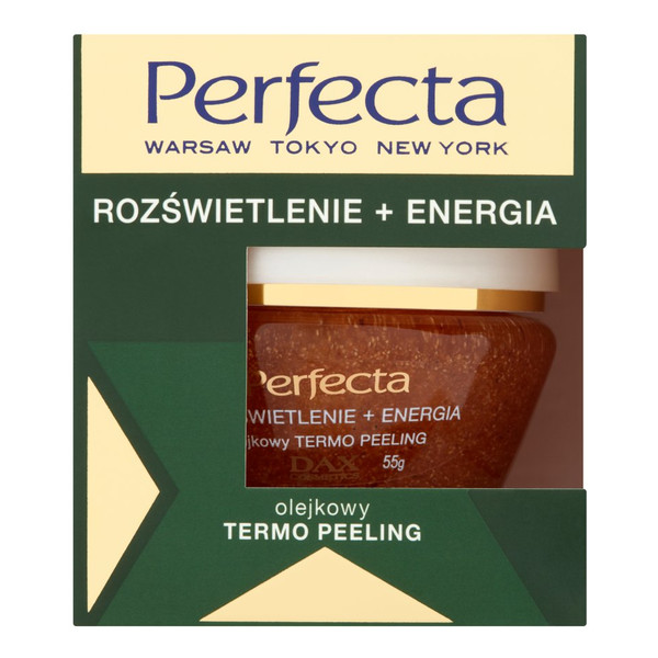 Perfecta Rozświetlenie + Energia Olejkowy termo peeling 50ml