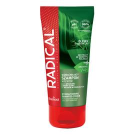 Wzmacniający szampon w kremie do wrażliwej skóry głowy i włosów wypadających