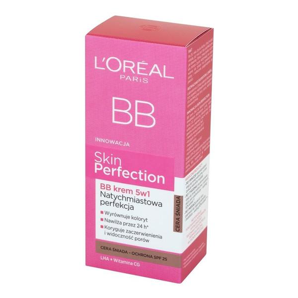 L'Oreal Skin Perfection BB Krem 5 w 1 Natychmiastowa Perfekcja 50ml