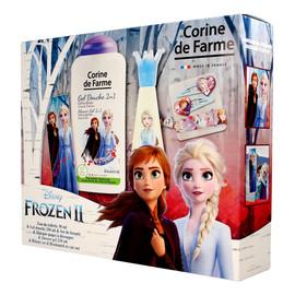 Zestaw prezentowy Frozen 2 woda toaletowa dla dzieci + żel pod prysznic + gadżety