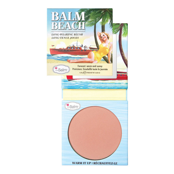 the Balm Balm Beach Long Wearing Blush Róż do policzków