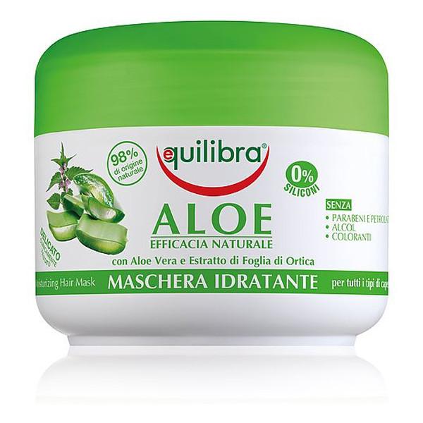 Equilibra Aloes Nawilżająca Maska Aloesowa Do Włosów 200ml