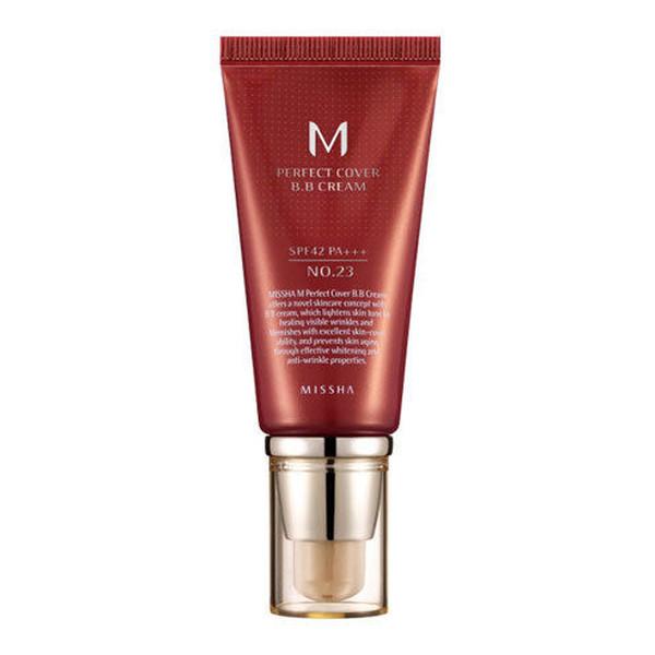 Missha M Perfect Cover BB Cream SPF42/PA+++ Krem BB z wysoką ochroną UV 50ml