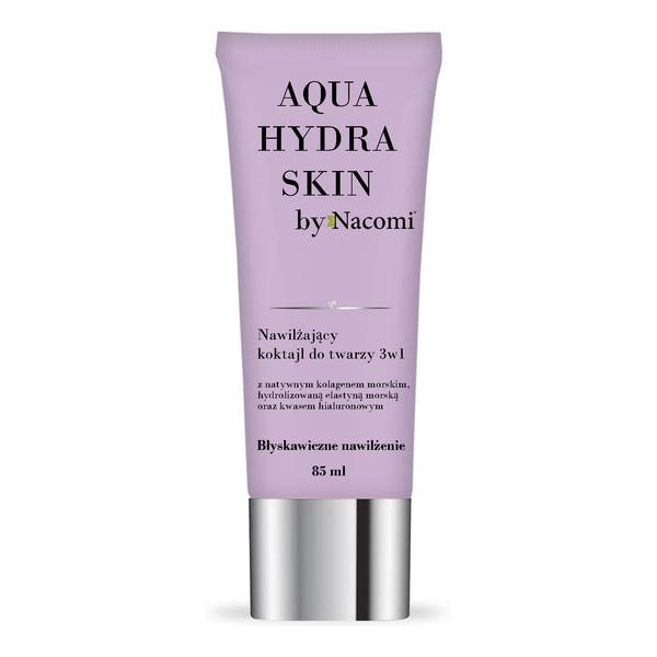 Nacomi Aqua Hydra Skin Nawilżający Koktajl Do Twarzy 3w1 85ml