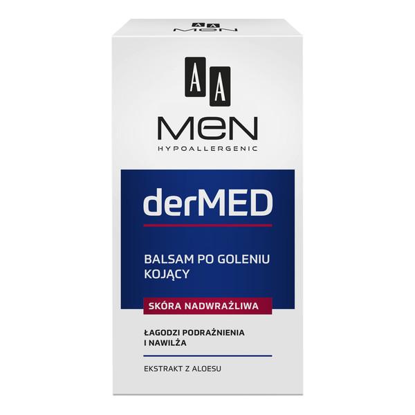 AA Men derMED Balsam po goleniu kojący - skóra nadwrażliwa 100ml