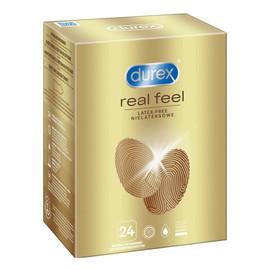Prezerwatywy bez lateksu real feel 24 szt bezlateksowe