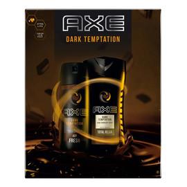 Zestaw prezentowy Dark Temptation dezodorant spray + żel pod prysznic