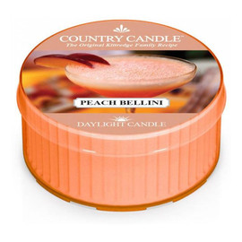 Daylight świeczka zapachowa peach bellini