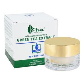 Przeciwzmarszczkowy Krem Na Powieki I Pod Oczy Z Ekstraktem Z Zielonej Herbaty