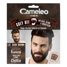 Men Krem koloryzujący do włosów brody i wąsów