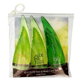 99% Zestaw Jeju Aloe Set (żel+pianka+żel pod prysznic) 1op.-55mlx3