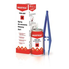 Tick-Off spray do bezpiecznego usuwania kleszczy 2w1