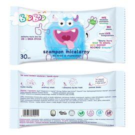 Szampon micelarny dla dzieci w chusteczkach 30szt