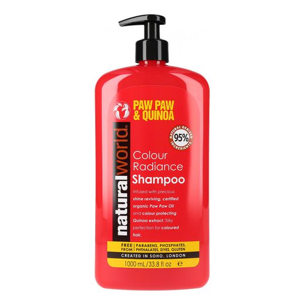 Natural World PAW PAW&QUINOA Szampon chroniący kolor włosów