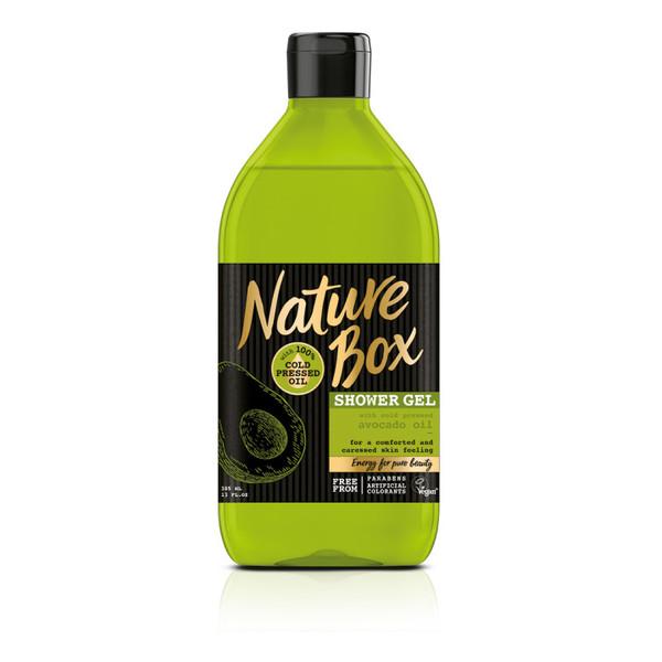 Nature Box Avocado Oil pielęgnujący Żel pod prysznic 385ml