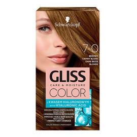 Krem koloryzujący do włosów 7-0 beżowy ciemny blond