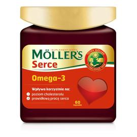 Serce omega-3 suplement diety 60 kapsułek