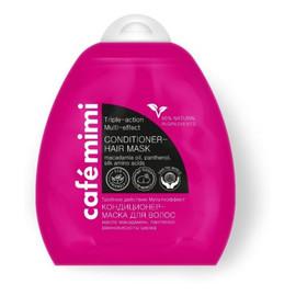 balsam (maska) do włosów - potrójne działanie - multiefekt - olej macadamia, aminokwasy jedwabiu, D-Panthenol - 95% składników naturalnych