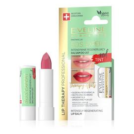 S.O.S. Expert Intensywnie regenerujący balsam do ust Tint Red